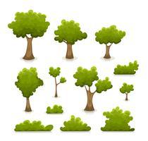 Bomen, hagen en struikenset