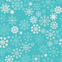 Naadloze Kerstmissneeuwvlokken Achtergrond vector