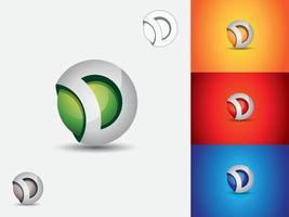 letter d logo pictogram sjabloon ontwerpelement vector