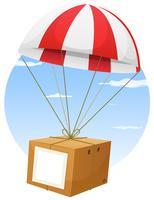Verzending luchtpost vector