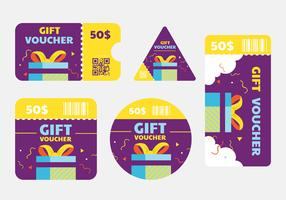 coupon sjabloon vector pack