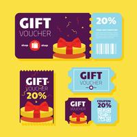 coupon vector ontwerp