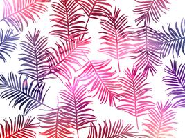 Tropische jungle verlaat naadloze patroon achtergrond