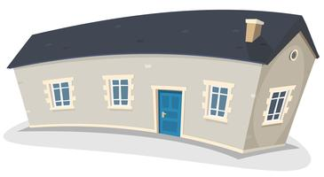 Lang huis vector