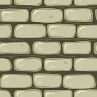 Naadloze stenen muur vector