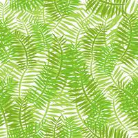 Naadloze groene bladeren achtergrond vector