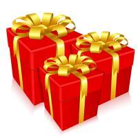 Geschenkdoos vector