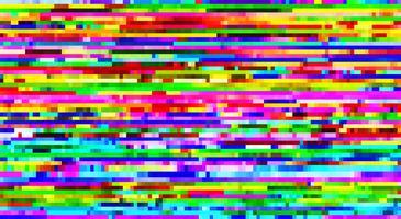 Vector glitch patroon