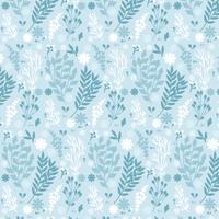 Vector Winter Hand getrokken patroon