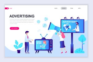 Advertentie en promotionele webbanner