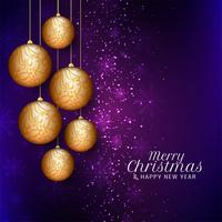 Abstracte Merry Christmas stijlvolle achtergrond vector