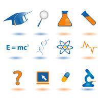 Wetenschap pictogram vector