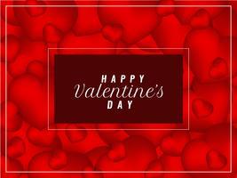 Abstracte gelukkige Valentijnsdag elegante stijlvolle achtergrond vector