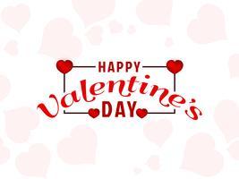 Abstracte Happy Valentijnsdag achtergrond