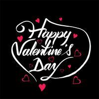 De kaart van de achtergrond mooie valentijnskaartillustratie illustratie vector