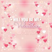 Vector Valentijnsdag Frame