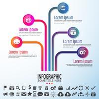 Infographics ontwerpelementen