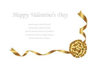 Valentijnsdag / bruids kaartsjabloon met tekst ruimte.