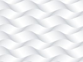 Twisty golven vector witte achtergrond
