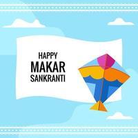 Makar Sankranti Poster vector