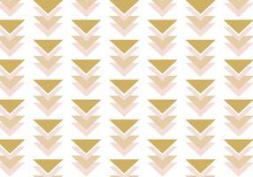 Southwest Rose Gold achtergrondpatroon vector