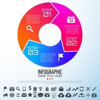 infographics ontwerpsjabloon vector