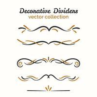 Decoratieve decoratieve elementenreeks