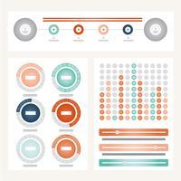 Infographic vectorillustratie vector