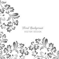 Sier naadloos decoratief bloemenontwerp vector