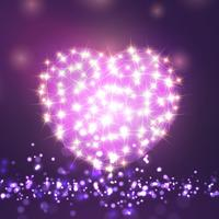 Valentijnsdag schittert hart