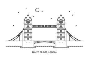 torenbrug vector