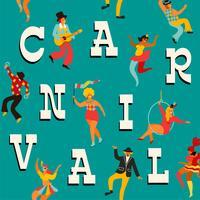 Vector sjablonen voor carnaval concept en andere gebruikers.