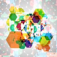 Abstracte kleurrijke eps10 vector achtergrond