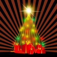 Kerst vector boom