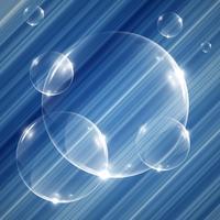 Realistische bollen, vectorillustratie