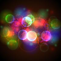 bokeh lichten - vectorillustratie.