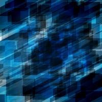 Abstracte blauwe achtergrond, vectorillustratie vector