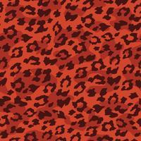 Luipaard naadloze achtergrond. Vector illustratie.