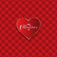Luxe Valentijnsdag achtergrond vector