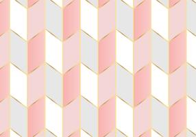 Geometrisch patroon Rose goud achtergrond