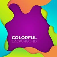 Vector kleurrijke achtergrond
