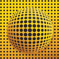 Abstract Globe gestippelde vector ontwerp