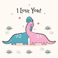 Ik hou van jou Vector