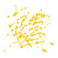 De abstracte gele waterverf ploetert ontwerpachtergrond vector
