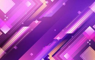 creatieve abstracte overlappende geometrische paars roze vector
