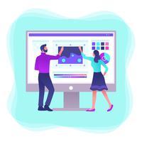 Grafische ontwerpsoftware Vector