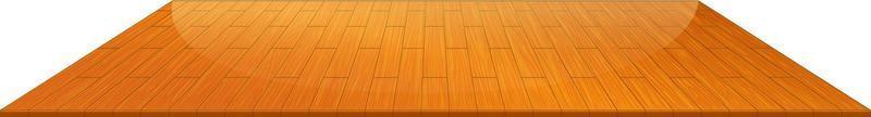 houten vloertegels geïsoleerd op witte achtergrond vector