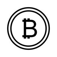 bitcoin vector pictogram