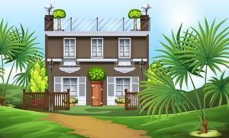 Een prachtig huis op de heuvel