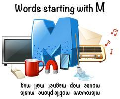 Woorden beginnend met letter M